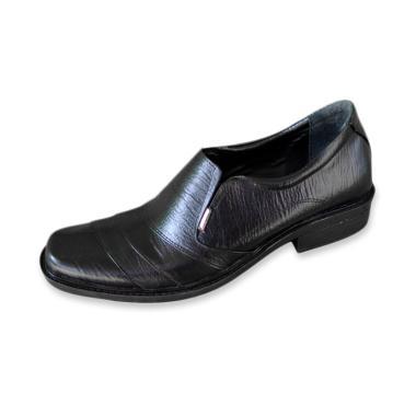 Kickers Kulit Pantofel Sepatu Pria - Hitam