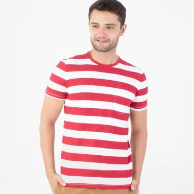 Manzone Fakelondon Garibaldi T-shirt Pria