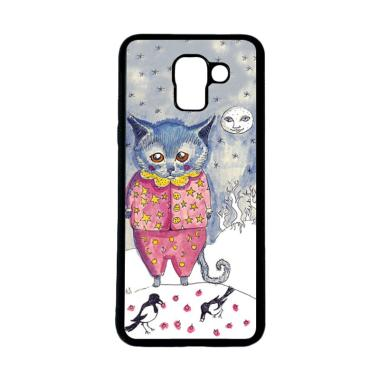 harga HEAVENCASE Motif Kucing Lucu 20 Softcase Casing for Samsung Galaxy J6 Blibli.com