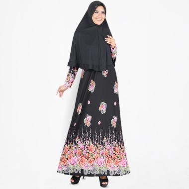 Koesoema Clothing Laiqa Maxi Set Ga ... ilbab Baju Muslim - Black
