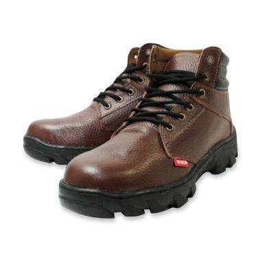 Jual Sepatu Safety Kulit Asli Terbaru - Harga Murah  55dc94da93