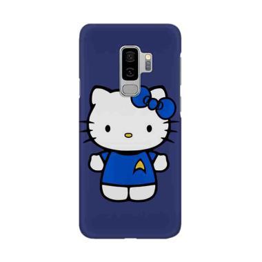 harga Indocustomcase Hello Kitty Blue 2 Cover Casing for Samsung Galaxy S9 Plus Blibli.com