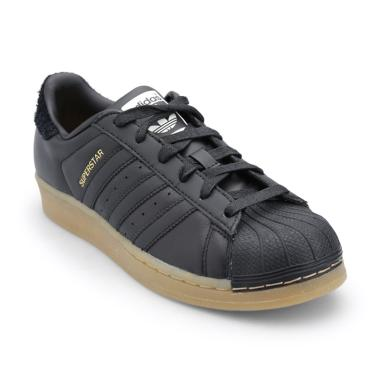 adidas Originals Women Superstar Shoes - Black [B37148]