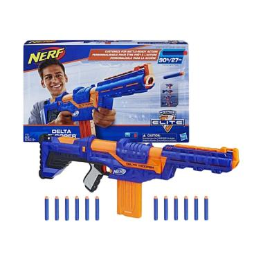 NERF N-Strike Elite Delta Trooper 4 in 1 Blaster Permainan Aksi [Original]