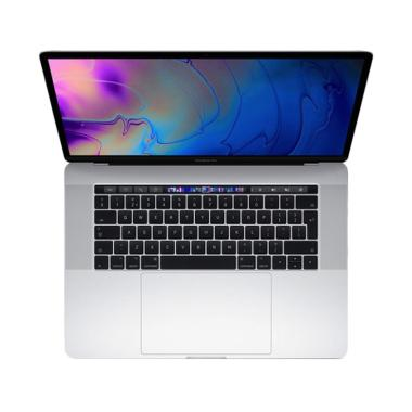 Apple MacBook Pro 2018 MR962ID/A Notebook with Touch Bar - Silver [15 Inch]