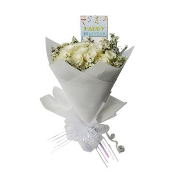 Freshcut Flowers Florist Hand Bouquet Bunga Mawar 427b0224f2