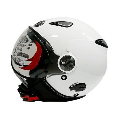 KYT Elsico Solid Helm Half Face