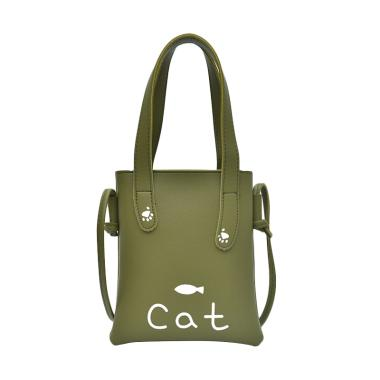 SoLoFi B062 Cat Mini Tote Bag