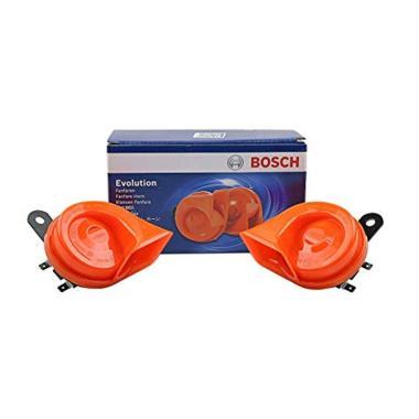 Bosch 0986AH0459 Evolution Fanfare Horn Klakson Keong Mobil - Orange