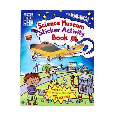 harga Carlton Books Buku Anak Genius Science Museum : Sticker Activity Book Blibli.com