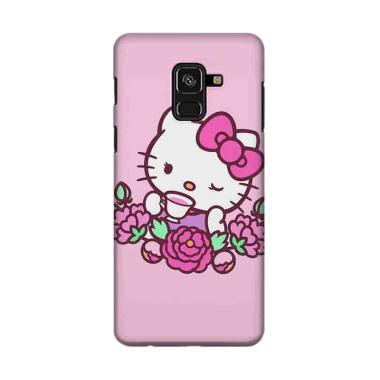 harga Indocustomcase Flower ID11 Hello Kitty Cover Casing for Samsung Galaxy J6 2018 Blibli.com