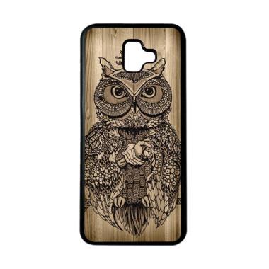 harga HEAVENCASE Motif Burung Bird 07 Softcase Casing for Samsung J6 Plus - Hitam Blibli.com