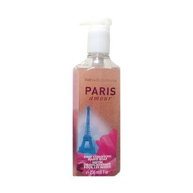 harga Bath and Body Works Paris Amour Deep Cleansing Hand Soap [236 mL] Blibli.com