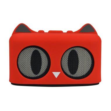 harga IIT Mini Cat Shape Wireless Bluetooth Stereo Speaker with TF Card Slot Blibli.com