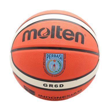 harga Molten Deep Channel Bola Basket - Orange [GR6D  - OI] Blibli.com