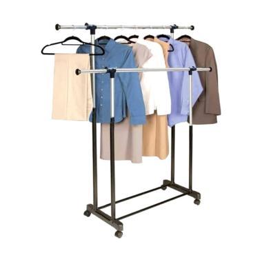 ZEHN Double Hanger Jemuran Baju