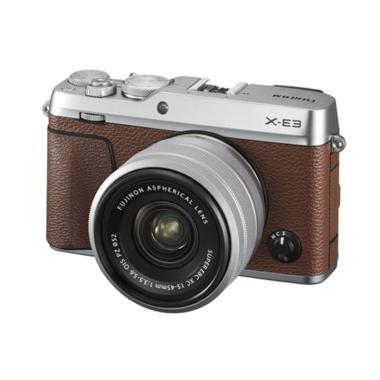 harga Fujifilm X-E3 Kit 15-45mm Mirrorless Digital Camera - Brown Brown Blibli.com