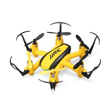 JJRC Indoor Mini Six-Axis Aircraft Fixed Height Function Pattern Rotating  Headless Mode Drone Toy - Gold