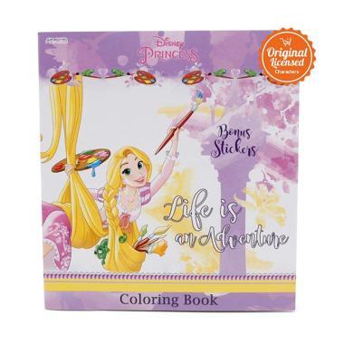 Disney Princess Coloring Book S Life Is An Adventure Buku Edukasi Anak