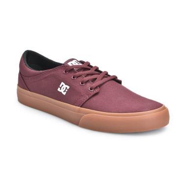 DC Trase TX M Shoe MAR Sepatu Sneakers Pria - Maroon