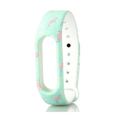 Bluelans #20 Camouflage Flower Replacement Wristband TPU Strap Bracelet for Xiaomi Mi Band2