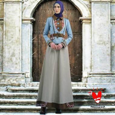 TUNEECA T-0319007 Dress Muslim Wanita