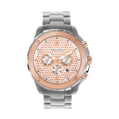 harga Christ Verra Men'S Watches [CV 71060G-14 SLV] Blibli.com
