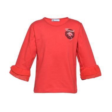 8894e4ca Versail Agustus T-shirt Anak Perempuan