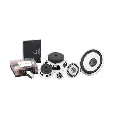 harga Crescendo 3 Way Evolution W1S3 Full Passive Speaker Mobil Blibli.com