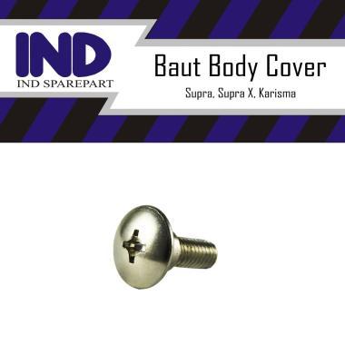 harga IND Onderdil Baut-Baud Body-Bodi Cover Supra & Supra X & Karisma M6x12 - 6x12 Blibli.com