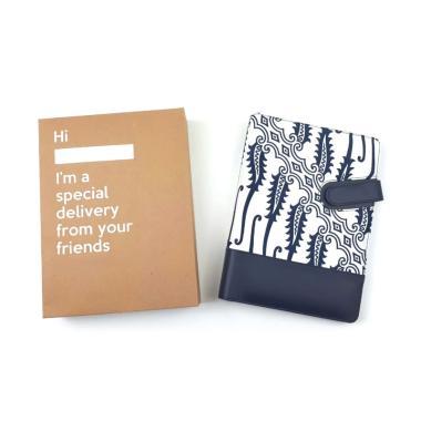 harga Bukuku Batik Buku Agenda - Winter Blue [A5] Blibli.com