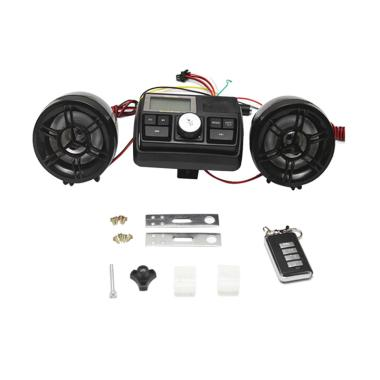 harga E-Accessory Anti-theft Motorcycle Alarm Sound System, Motor Car Audio MP3 FM Radio Stereo Speaker, Music Amplifier Blibli.com