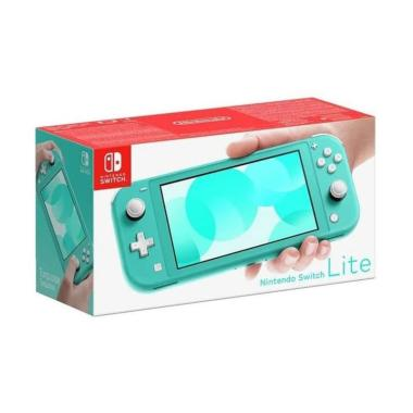 Nintendo Turquoise Switch Lite HG04 Console Game [32GB Internal Storage/ Asia]