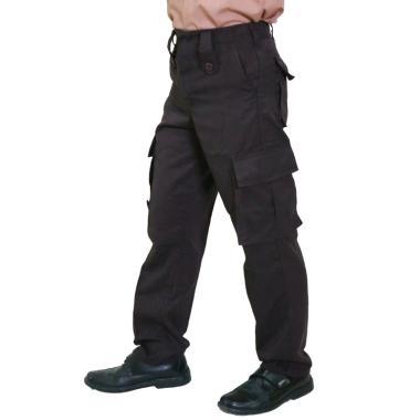 harga Baju Sekolahan Celana Panjang Pria for PDL Polri/ Brimob/ Pramuka - Coklat Tua Blibli.com