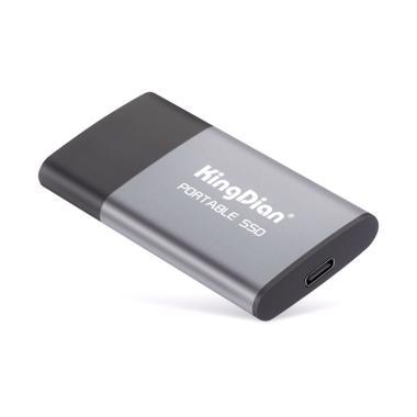 harga KingDian CV-14 Portable SSD External [USB 3.0/ 240 GB] grey Blibli.com