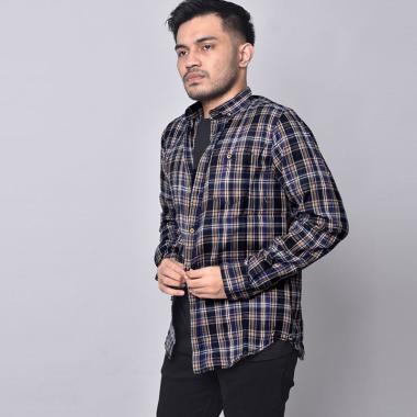 harga Bsg_fashion1 Premium Casual Flanel Kemeja Lengan Panjang Pria [6297] Blibli.com