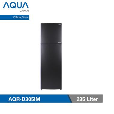 harga Aqua Japan AQR-305IM DS Kulkas Inverter 2 Pintu [235 L] Blibli.com