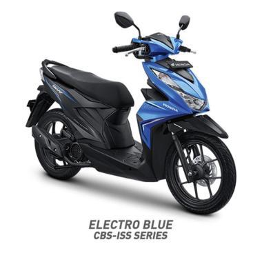 Honda New BeAT Sporty CBS ISS Sepeda Motor [VIN 2020- OTR Jambi]