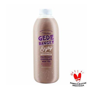 CHATIME HAZELNUT CHOCOLATE MILK TEA GEDE BANGET - 1 LITER