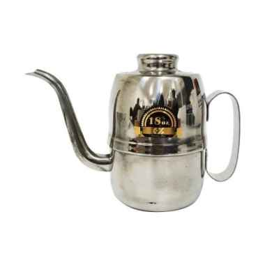 harga OEM Teko Leher Angsa gooseneck Kettle [540 mL] - Silver Silver Blibli.com