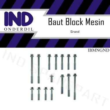 harga IND Onderdil Baut Block Blok Mesin Krengkes Cover Luar Kiri Kanan Set Honda Astrea Prima Legenda Blibli.com