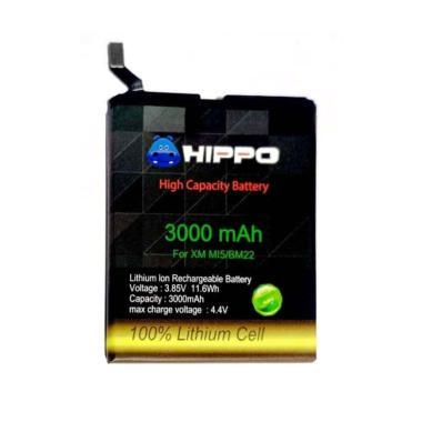 harga HIPPO Baterai Handphone for Xiaomi Mi5/ Mi5 Pro/ Mi5 Prime/ BM22 [3000 mAh] Blibli.com
