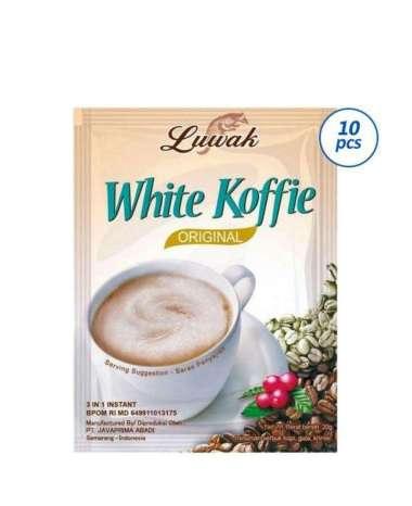 Luwak White Coffee Kopi Instant [10 Sachet]