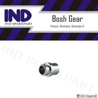 harga IND Bosh Gear Aksesoris Motor for Vixion/ Scorpio/ Scorpio Z/ Vixion New SILVER Blibli.com