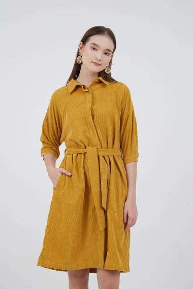 Berrybenka Josie Corduroy Dress