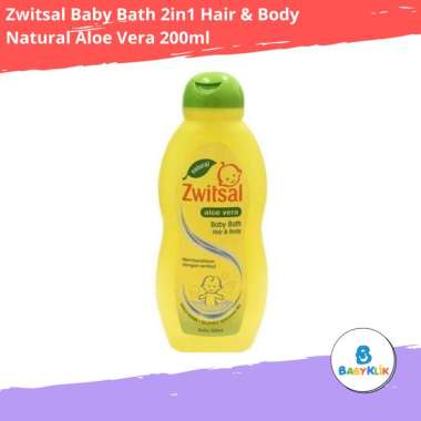 harga Zwitsal Baby Bath 2in1 Hair & Body Natural Aloe Vera 200ml Sabun Shampo Bayi Blibli.com