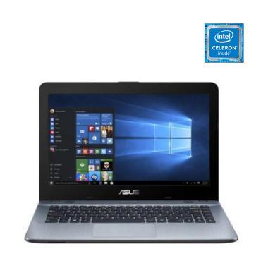 Kamis Diskon - Asus X441MA-GA032T Notebook - Silver [N4020/ 4GB/ 1TB/ 14 Inch/ Win10 Home]