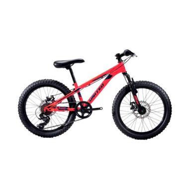 harga United Bike Monanza Sepeda MTB - Red Black [20 inch] Blibli.com