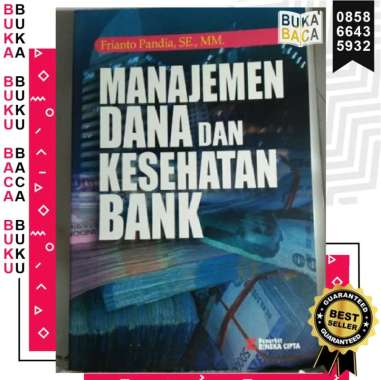 harga MANAJEMEN DANA DAN KESEHATAN BANK FRIANTO PANDIA RINEKA CIPTA BUKU KEUANGAN EKONOMI ASLI ORIGINAL Blibli.com