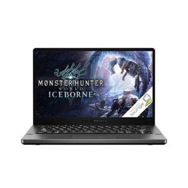 """ASUS ROG ZEPHYRUS GA401IH Gaming Laptop [AMD Ryzen 7-4800HS / 8GB DDR4 / SSD 512GB / NVIDIA GeForce GTX1650TI-4GB/ 14"""" FHD/ Windows 10]"""